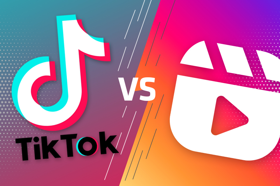 TikTok vs. Reels – Battle of the Kurzvideos